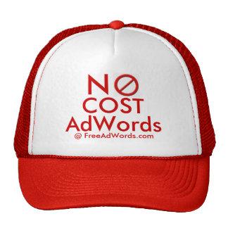 """""""NO COST"""" Adwords - Ad Cap Trucker Hat"""
