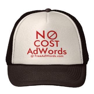 """""""NO COST"""" Adwords - Ad Cap Hat"""