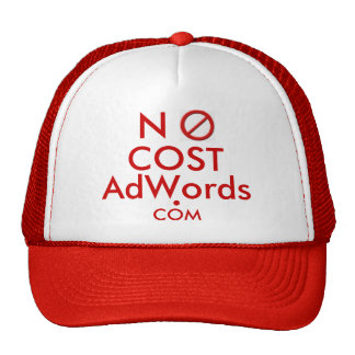 NO COST Adwords .COM - Ad Cap Mesh Hats