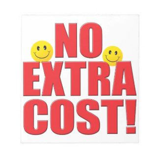 No Cost Life Memo Notepad