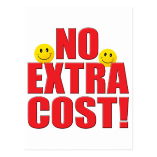No Cost Life Postcard