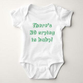 No Crying! Baby Bodysuit