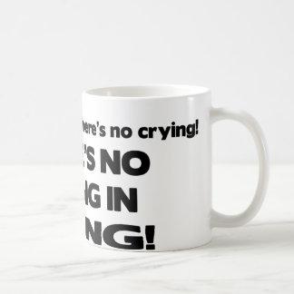 No Crying - Diving Coffee Mug