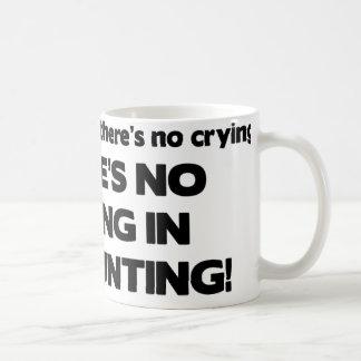 No Crying in Accounting Coffee Mug