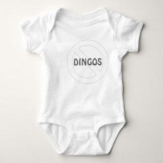 No Dingos Baby Bodysuit