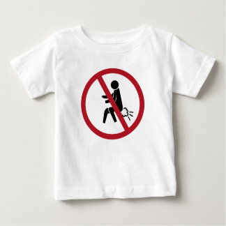 No Farting Sign, Thailand Baby T-Shirt