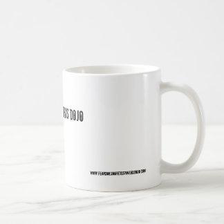 no fear = this dojo (mug) basic white mug