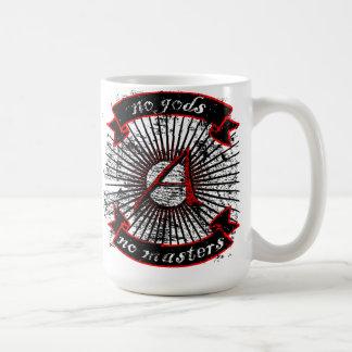 no gods no masters mugs