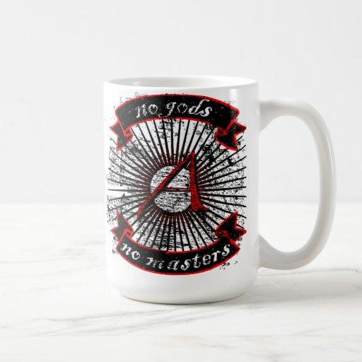 no gods, no masters mugs