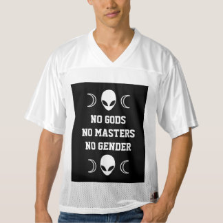NO GODS NO MASTERS NO FOOTBALL MEN'S FOOTBALL JERSEY