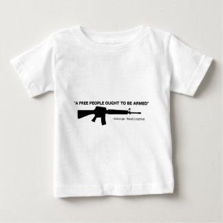 No Gun Control Baby T-Shirt