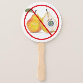No Jokers with Pears Fan