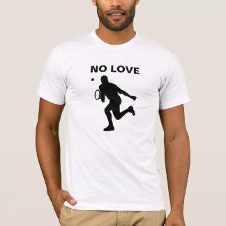 No Love Tennis player t-shirt