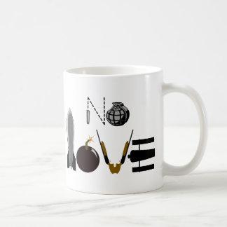 No Love Weapons Coffee Mug