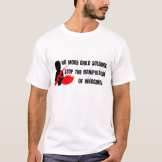 No More Child Soldiers T-Shirt