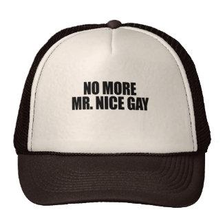 NO MORE MR NICE GAY MESH HATS