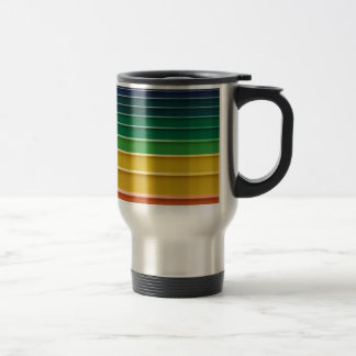 No more workplace guessing.... stainless steel travel mug