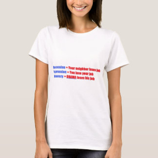 "No Obama - ""Obamanomics"" T-Shirt"
