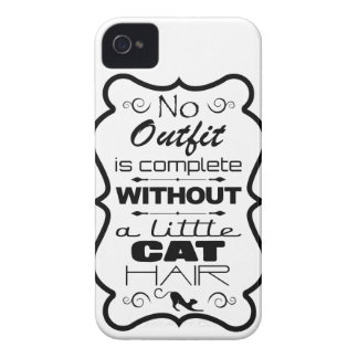 No Outfit is complete without a little Cat Hair iPhone 4 Covers