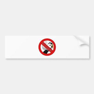 No Puffin Bumper Sticker