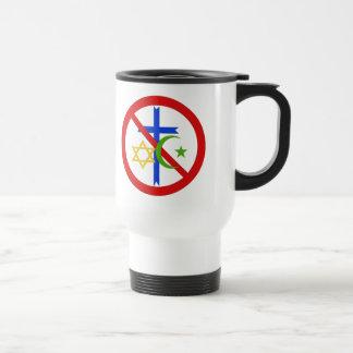 No Religion Stainless Steel Travel Mug