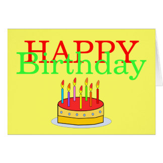 No Room For All the Candles Funny Happy Birthday Greeting Card