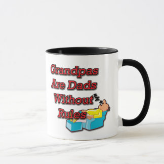 No Rule Grandpa Mug