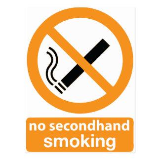 no secondhand smoking 002 postcard
