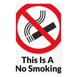 say no to smoking essay report