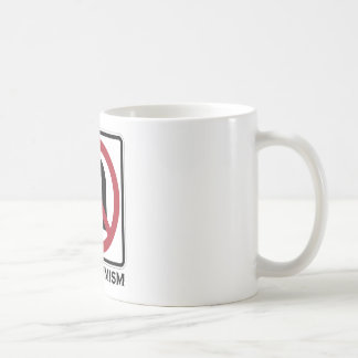 No U-Turn On Optimism (Traffic Sign Attitude) Classic White Coffee Mug