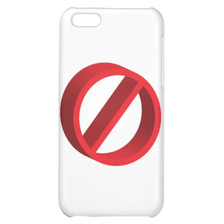 No (you fill in the blank) iPhone 5C case