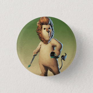 Noah 3 Cm Round Badge