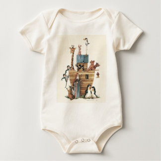 Noah Boat Baby Bodysuit