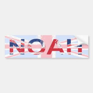Noah Bumper Sticker