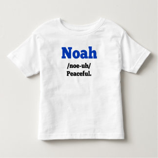 Noah Name Definition Shirt