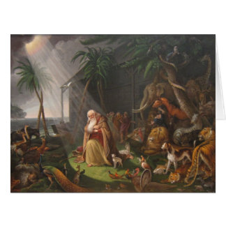 Noah's Ark by Charles Wilson Peale - Circa 1819 Card