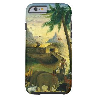 Noah's Ark by Hidley, Vintage Victorian Folk Art Tough iPhone 6 Case