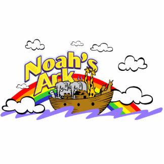 Noah's Ark Photo Sculpture Key Ring