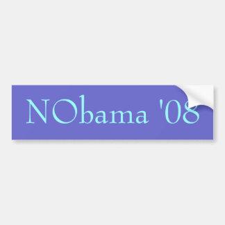 Nobama '08 Bumper Sticker