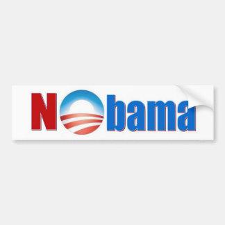 Nobama - No Obama Bumper Sticker