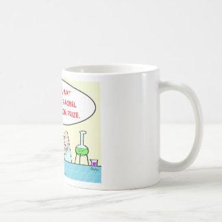 nobel consolation prize scientists laboratory coffee mug