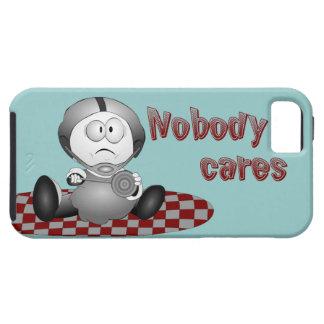 Nobody Cares iPhone 5 Tough Case