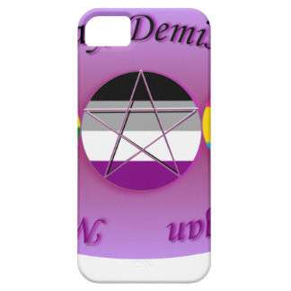 Nobody Knows I'm A Gay Demi Pansexual Pagan Pride iPhone 5 Cover