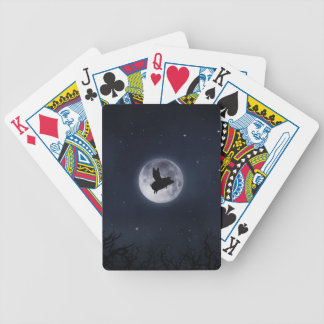 nocturnal flying pig playing cards