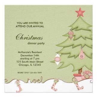 Noel Christmas Dinner Announcements