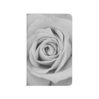 Noir Rose I Photo Notebook Journals