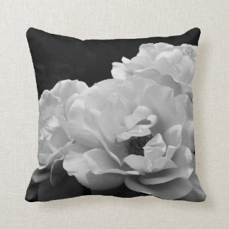 Noir Rose II Photo Cushion