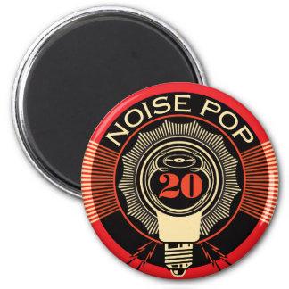 Noise Pop 20 6 Cm Round Magnet