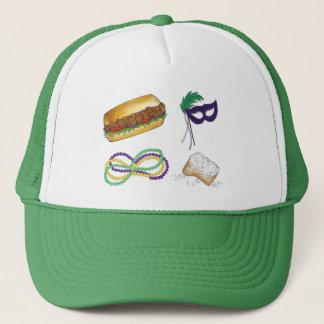 NOLA New Orleans Louisiana Mardi Gras Party Hat