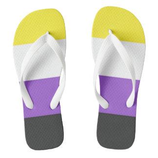 Non-binary flag flip flops